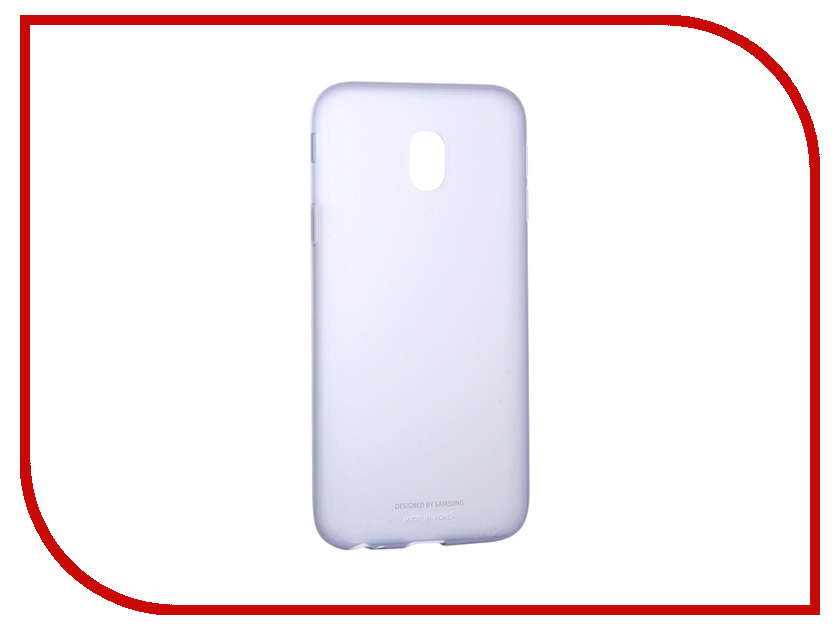 Аксессуар Чехол Samsung Galaxy J3 2017 SM-J330 Jelly Cover Light Blue SAM-EF-AJ330TLEGRU аксессуар чехол накладка samsung sm g928 galaxy s6 edge clear cover silver sam ef qg928csegru