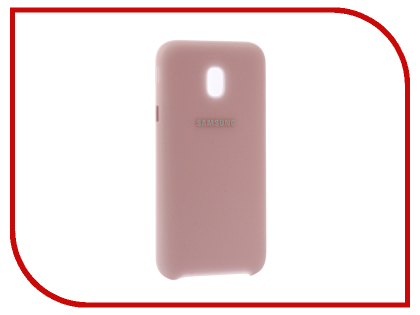 Аксессуар Чехол Samsung Galaxy J3 2017 SM-J330 Layer Cover Pink SAM-EF-PJ330CPEGRU аксессуар чехол samsung galaxy j5 2017 sm j530 layer cover pink sam ef pj530cpegru