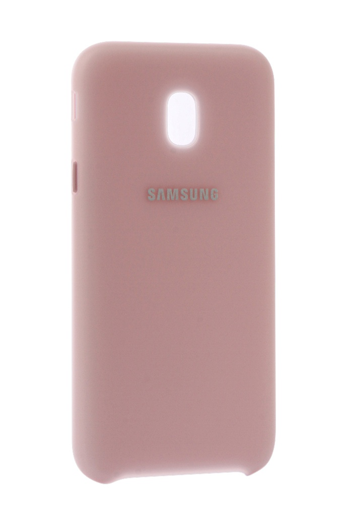 Аксессуар Чехол Samsung Galaxy J3 2017 SM-J330 Layer Cover Pink SAM-EF-PJ330CPEGRU чехол для samsung galaxy j3 2017 sm j330f dual layer cover голубой