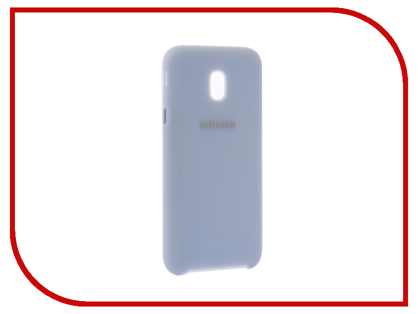 Аксессуар Чехол Samsung Galaxy J3 2017 SM-J330 Layer Cover Light Blue SAM-EF-PJ330CLEGRU аксессуар чехол накладка samsung sm g928 galaxy s6 edge clear cover silver sam ef qg928csegru