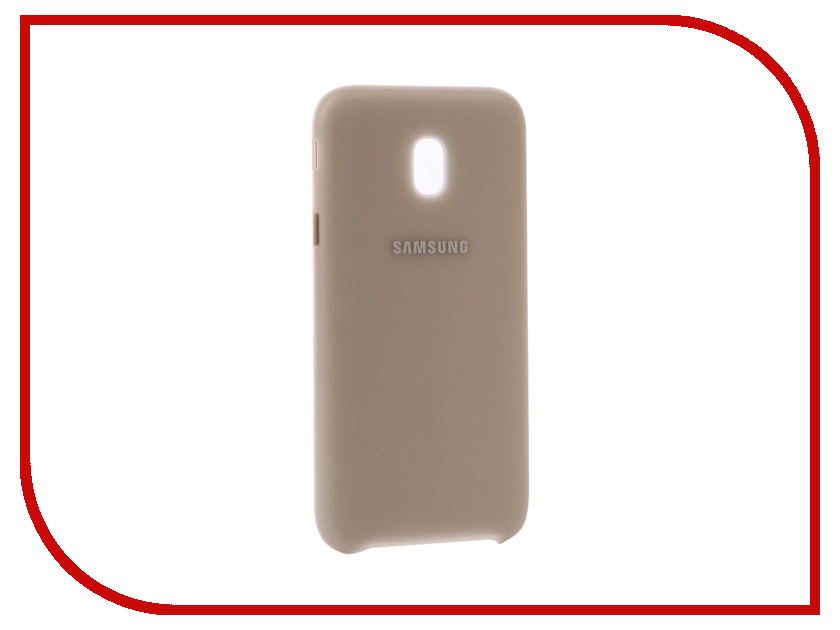 Аксессуар Чехол Samsung Galaxy J3 2017 SM-J330 Layer Cover Gold SAM-EF-PJ330CFEGRU