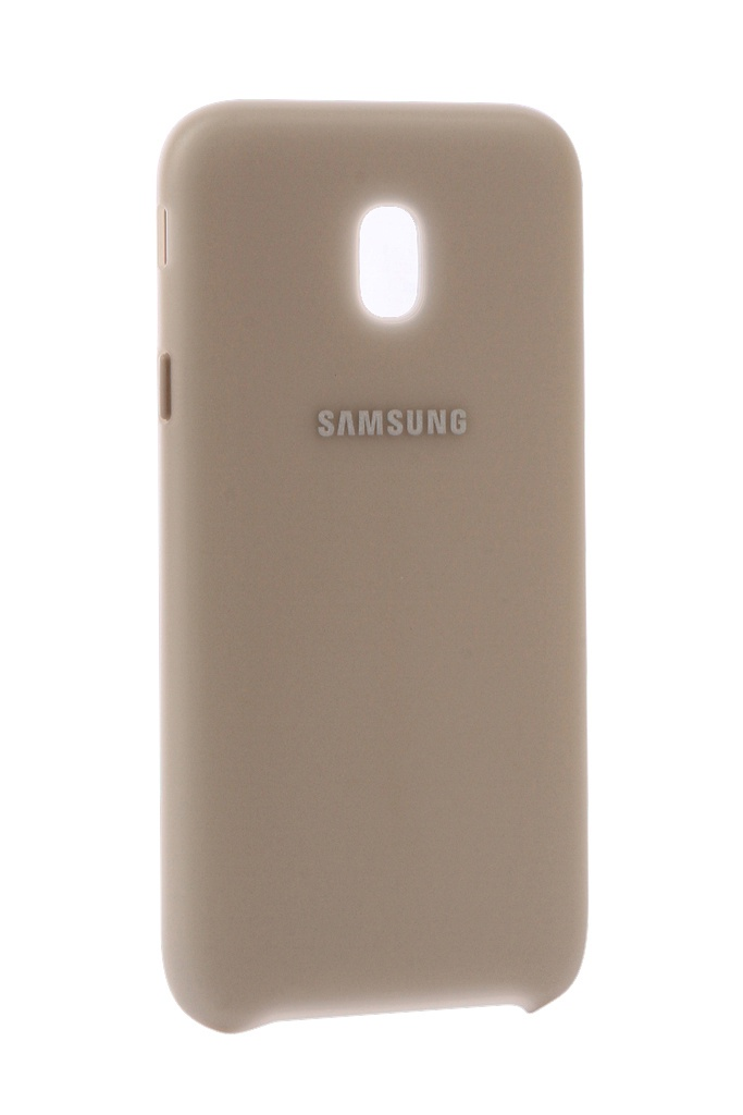 Аксессуар Чехол Samsung Galaxy J3 2017 SM-J330 Layer Cover Gold SAM-EF-PJ330CFEGRU чехол для samsung galaxy j3 2017 sm j330f dual layer cover голубой