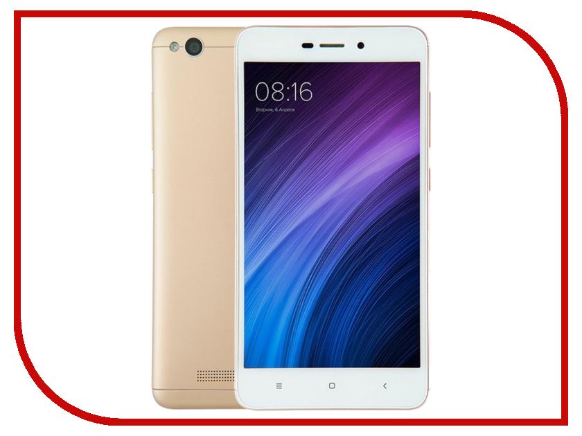 Сотовый телефон Xiaomi Redmi 4A 2Gb RAM 32Gb Gold мобильный телефон xiaomi 2gb