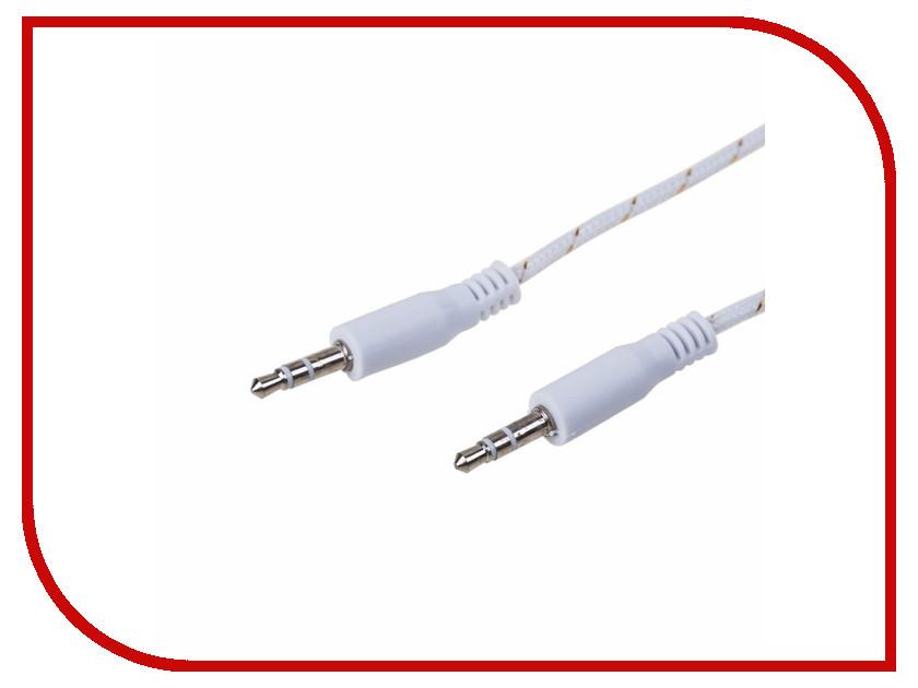 Аксессуар Rexant AUX 3.5mm 1m White 18-4070-9