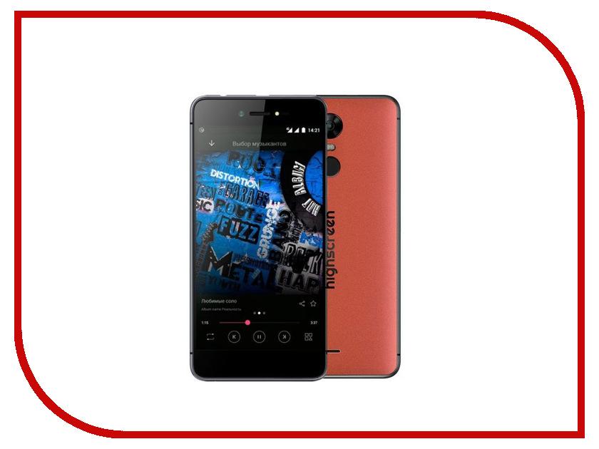 Сотовый телефон Highscreen Fest Xl Orange оригинальный чехол флип для highscreen fest xl xl pro