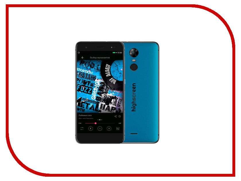Сотовый телефон Highscreen Fest XL Pro Blue смартфон highscreen easy xl pro blue