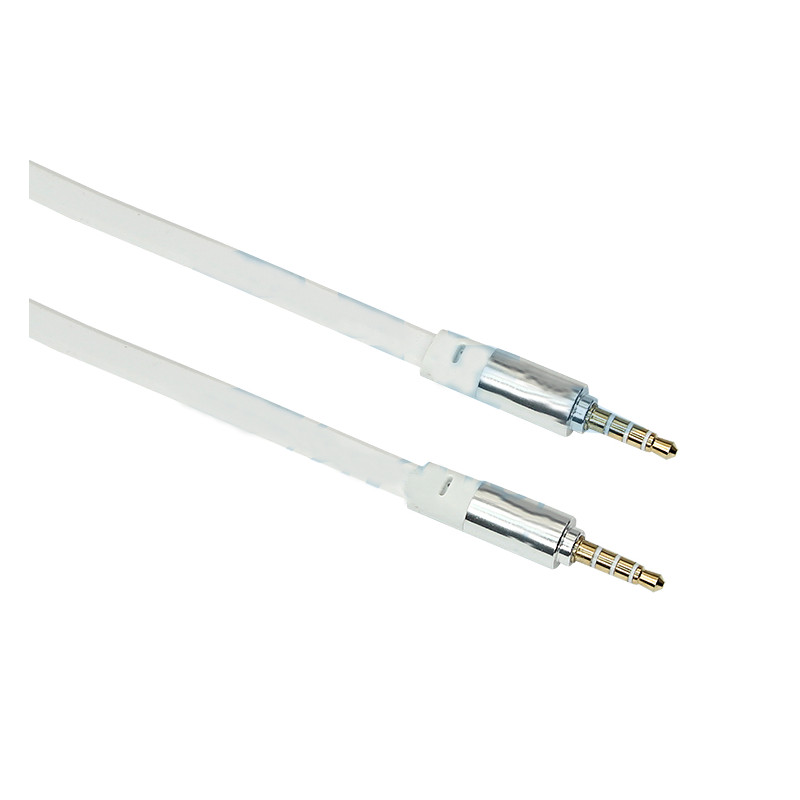 Аксессуар Rexant AUX 3.5mm 1m White 18-4004 цена