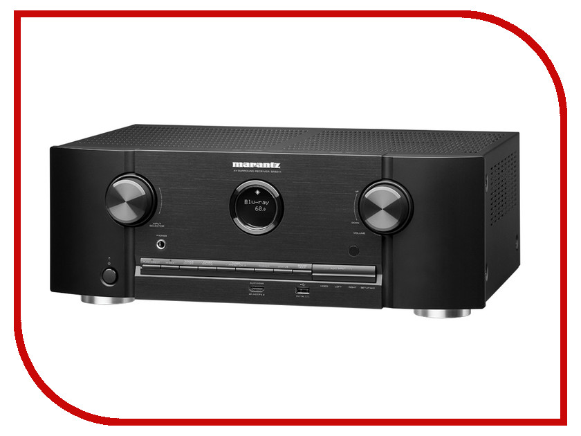 Ресивер Marantz SR 5011 Black сетевой аудио проигрыватель marantz na8005 black
