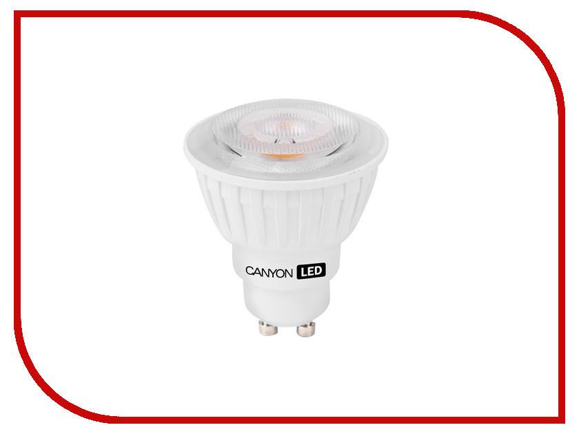 Лампочка Canyon GU10 4.8W 2700K 7WMRGU105W230VW60<br>