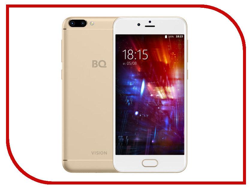 Сотовый телефон BQ BQ-5203 Vision Gold купить телефон сотовый тексет