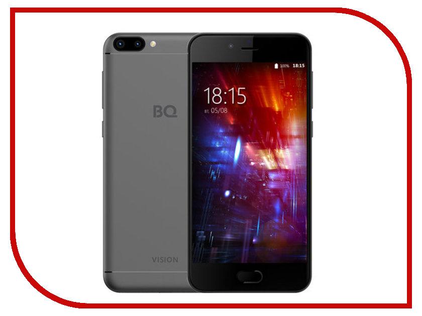 Сотовый телефон BQ BQ-5203 Vision Gray мобильный телефон bq m 1565 hong kong silver