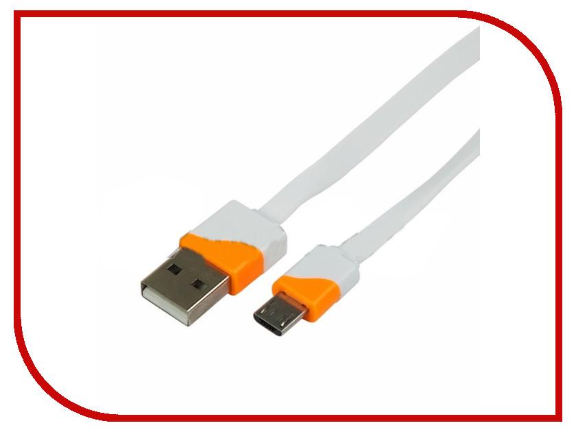 Аксессуар Rexant USB - MicroUSB 1m White 18-4274-1-9 аксессуар rexant 18 0153 camera connection kit white