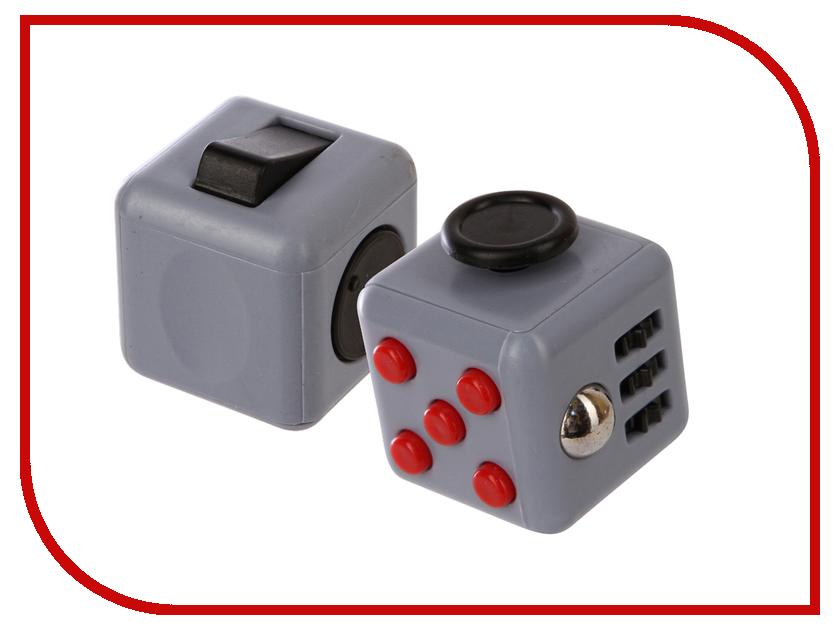 Игрушка антистресс Fidget Cube Grey-Black-Red