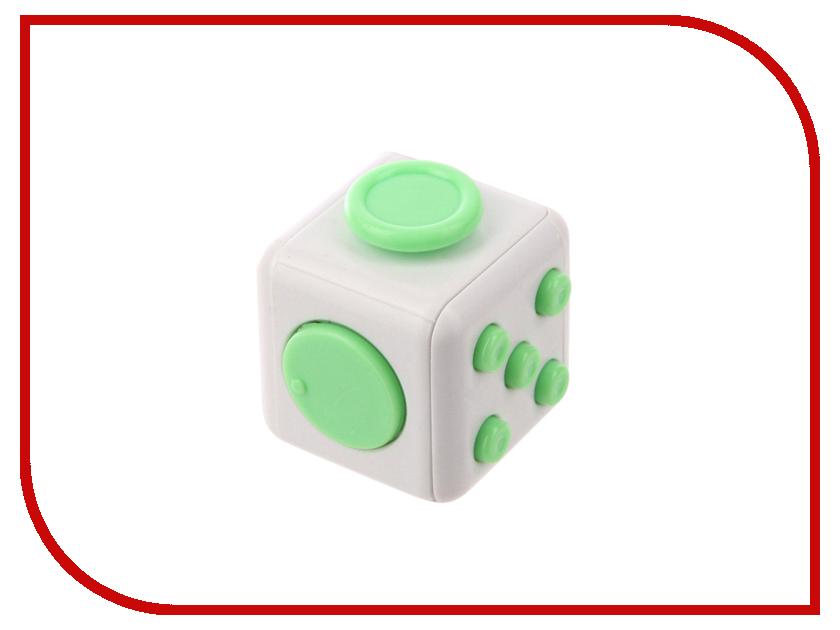 Игрушка антистресс Fidget Cube White-Green