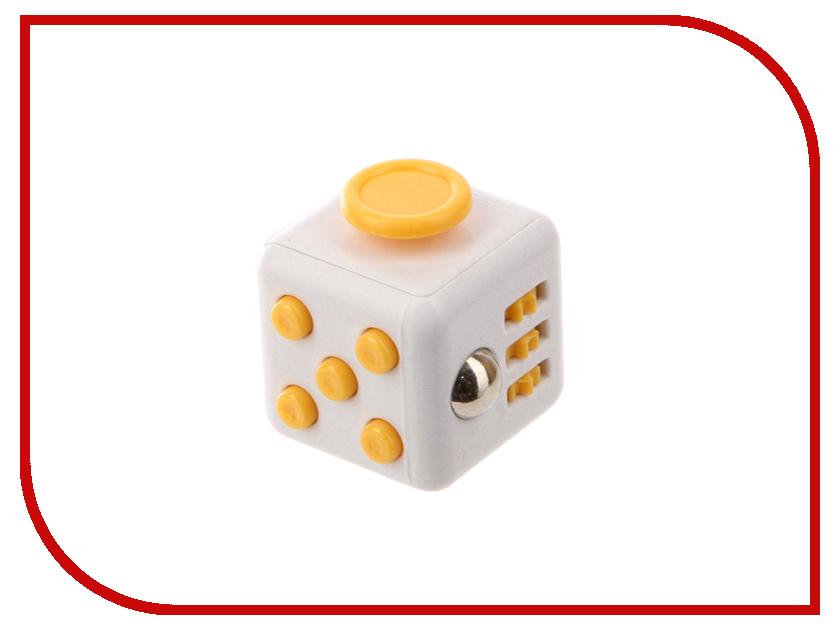 Игрушка антистресс Fidget Cube White-Yellow