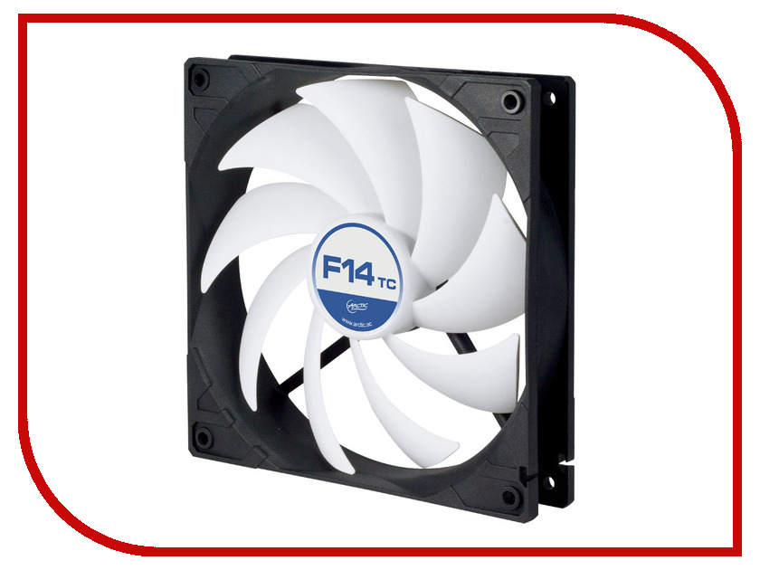 Вентилятор Arctic Cooling F14 TC 140mm ACFAN00081A рация f14 ktv