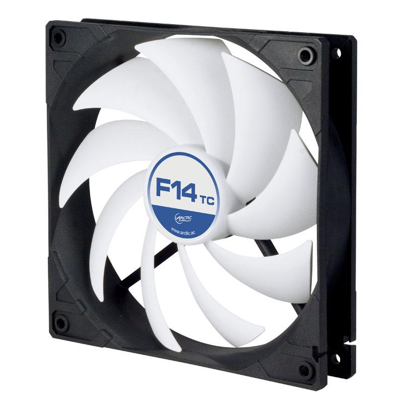 Вентилятор Arctic Cooling F14 TC 140mm ACFAN00081A вентилятор arctic cooling arctic f14 140мм acfan00077a