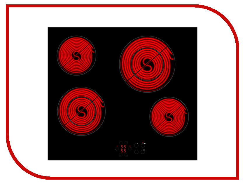 Варочная панель Zigmund & Shtain CNS 269.60 BX