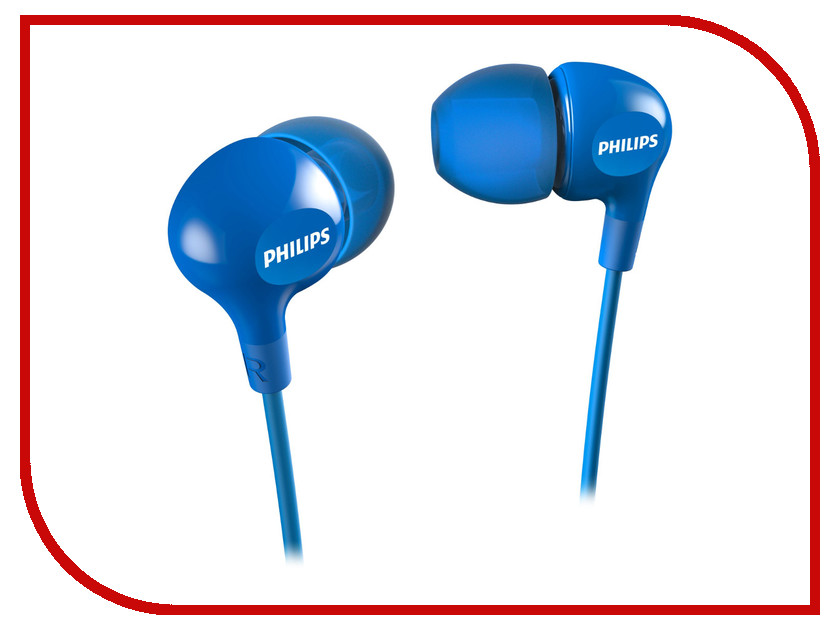 Наушники Philips SHE3550BL/00 наушники philips she3515wt she3515wt 00
