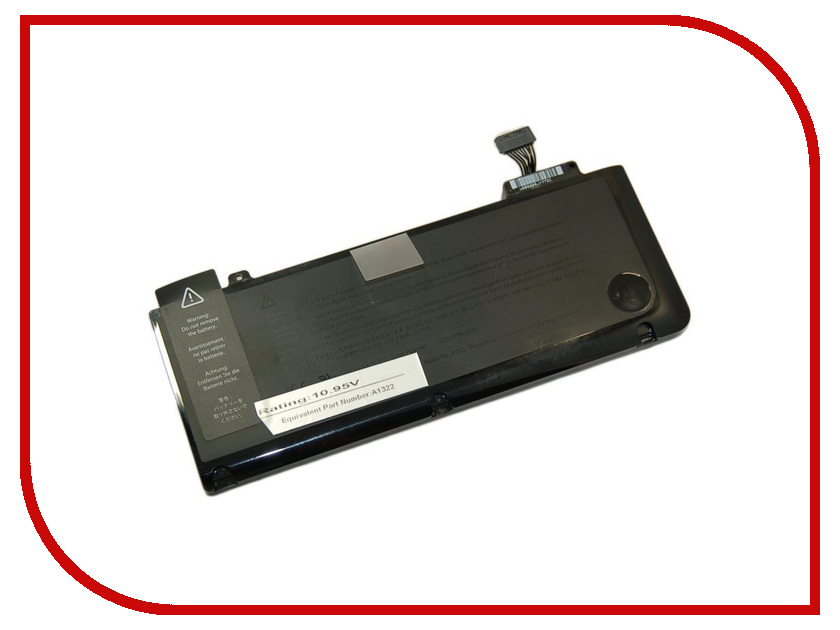 Аксессуар Аккумулятор Palmexx APPLE MacBook Pro 13 A1322 10.95v 4200mAh PB-300 аккумулятор asus a32 1015 for 1015 1016 1215 palmexx 5200 mah pb 253 black