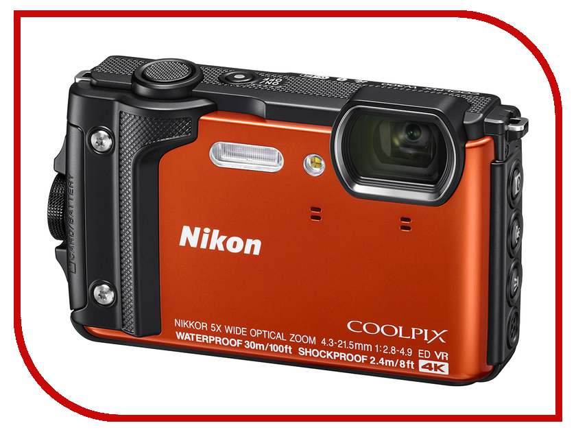 цены на Фотоаппарат Nikon Coolpix W300 Orange в интернет-магазинах