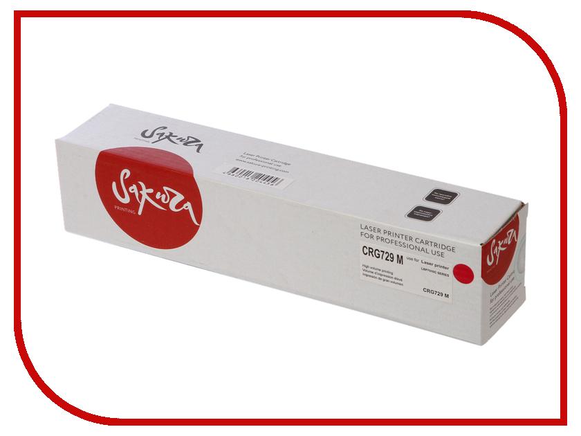 Картридж Sakura SACRG729M Magenta для Canon LBP7010C/7018C 1000к