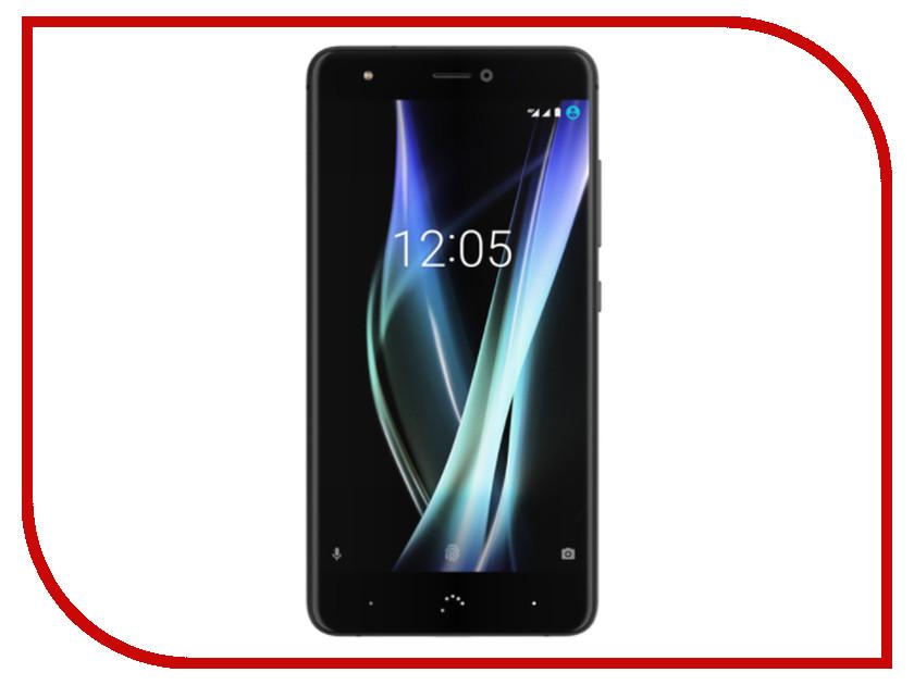 Сотовый телефон BQ Aquaris X 32Gb Black-Mineral Black bq aquaris x5 cyanogen edition купить