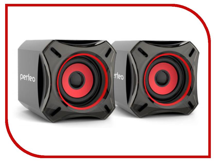 Колонка Perfeo Cube Black PF-812 колонка perfeo multimedia speaker active pf 429 r red