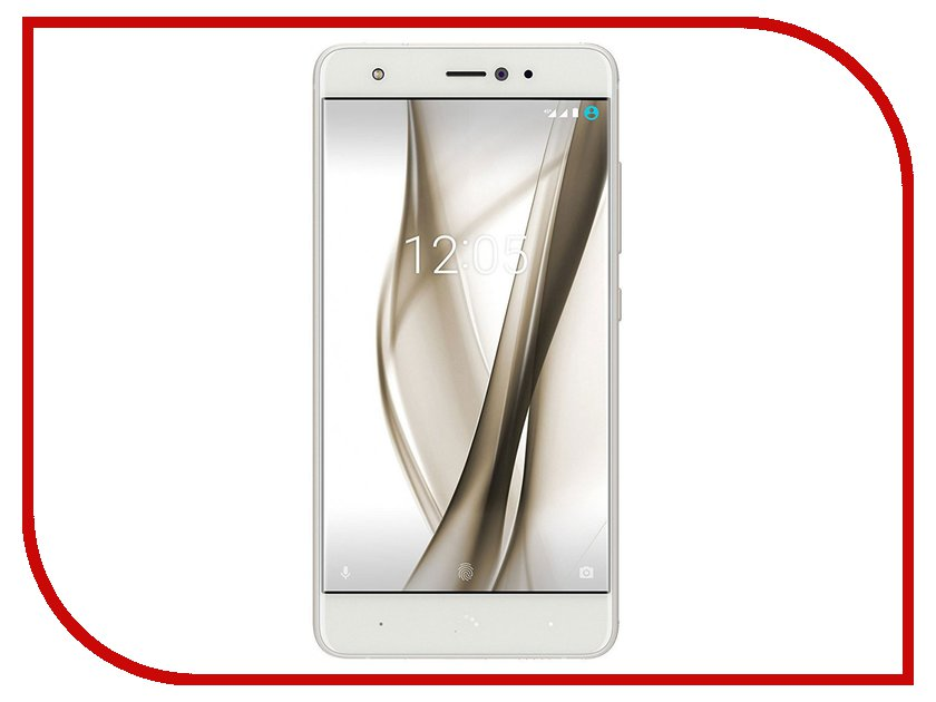 Сотовый телефон BQ Aquaris X Pro 64Gb White-Glaze White сотовый телефон meizu pro 7 64gb black