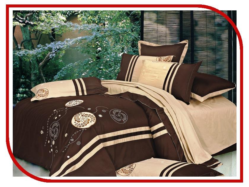Постельное белье Valtery 100-49 Комплект Семейный Сатин с вышивкой