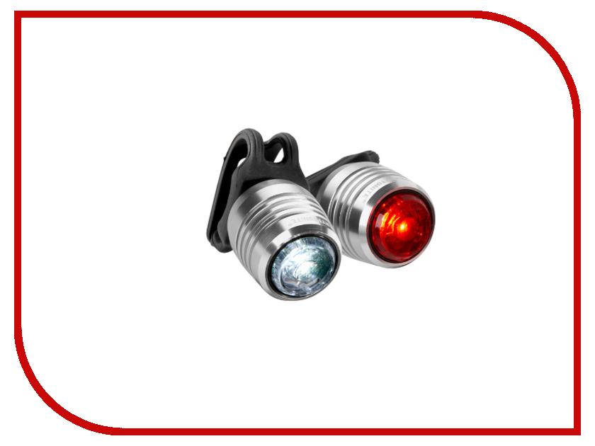 Велофонарь Kryptonite Boulevard F-14 + R3 LED ALUM SET<br>