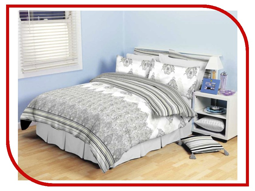 Постельное белье Хлопковый Рай Ария Комплект 2 спальный Бязь