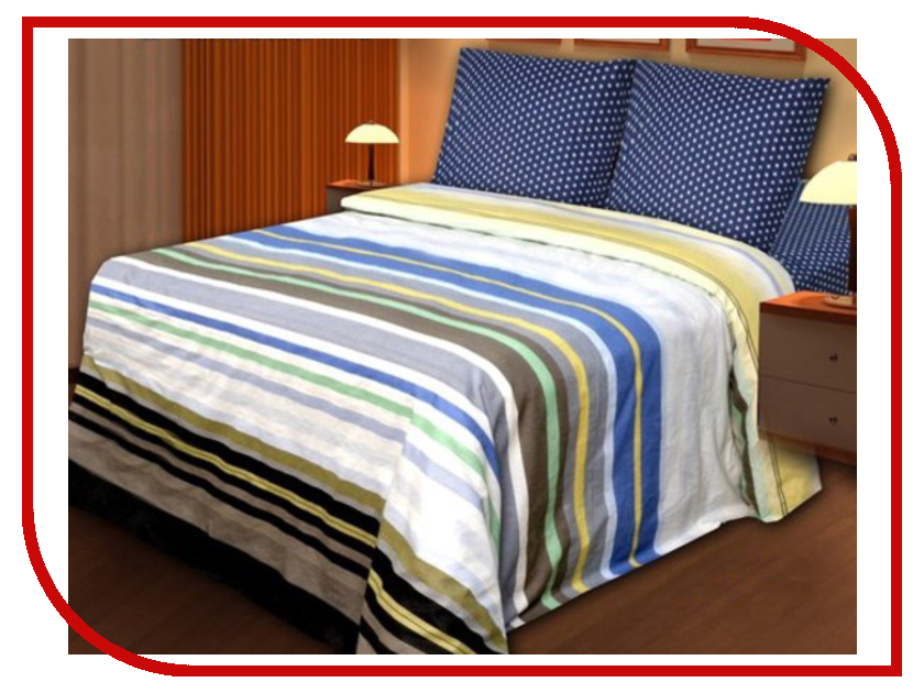 Постельное белье Хлопковый Рай Эстет Комплект 2 спальный Бязь