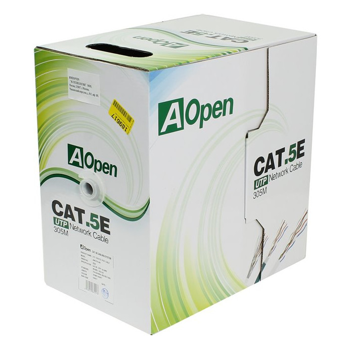 Сетевой кабель AOpen Light UTP cat.5e