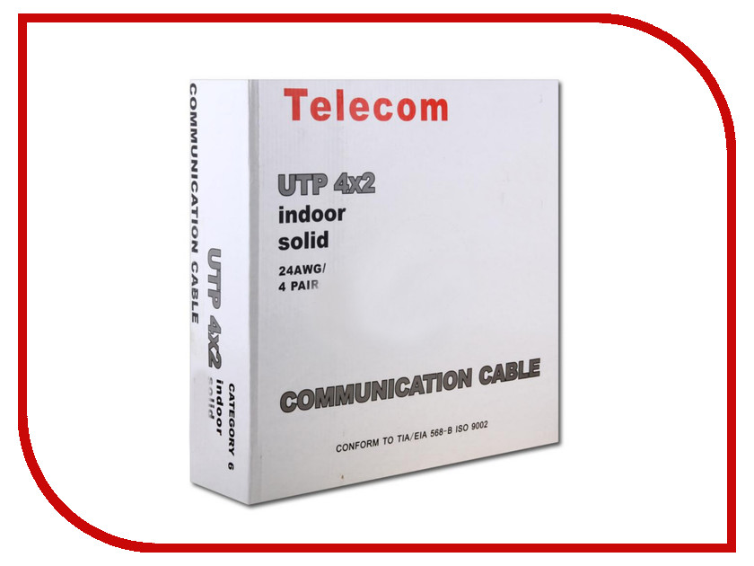 Аксессуар Telecom UTP cat.6 2m
