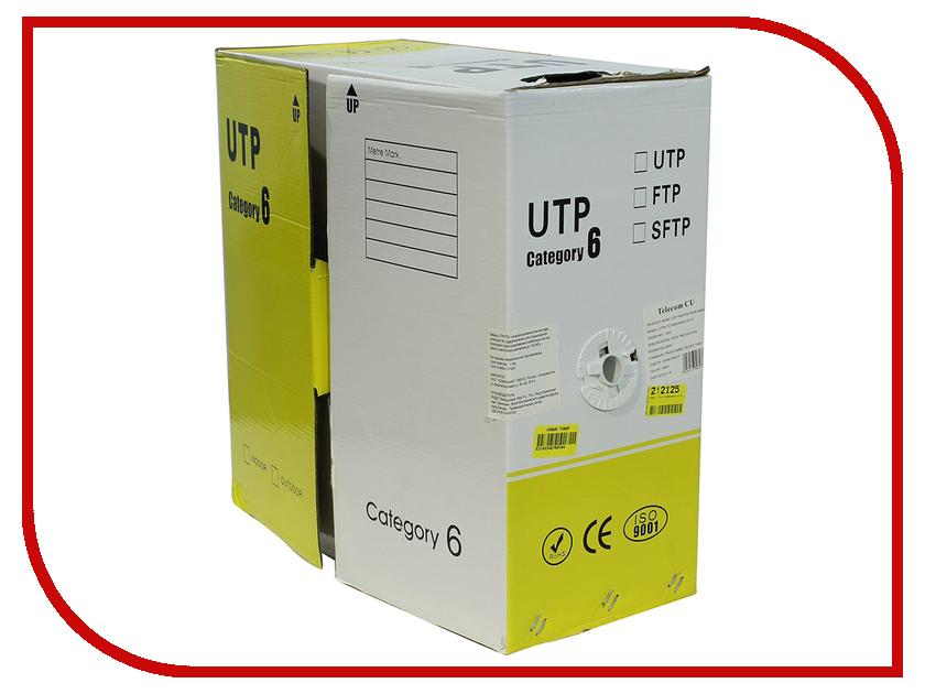 Сетевой кабель Telecom CU UTP cat.6 vi b63 cu