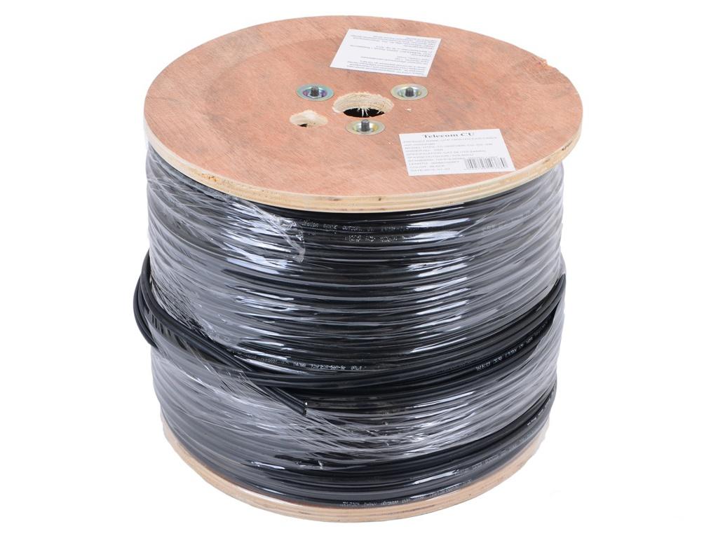 Сетевой кабель Telecom CU UTP cat.5e telecom solid cu 0 42mm cat5e gray