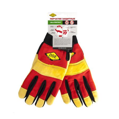 Перчатки DDE Vibro-Protect L 648-526 ручка dde 648 175