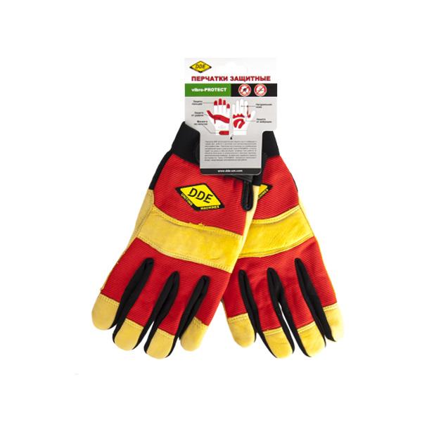 Перчатки DDE Vibro-Protect M 648-519 ручка dde 648 175