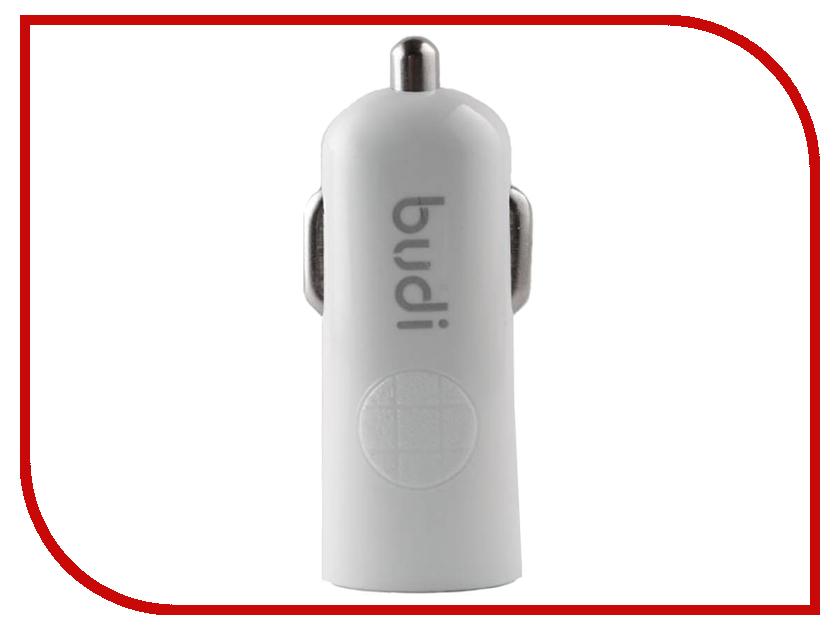 Зарядное устройство Budi M8J062 2.4A White зарядное устройство budi m8j065 3 1a lightning cable white