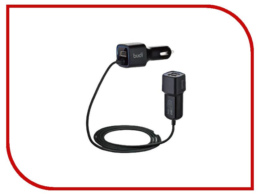 Зарядное устройство Budi M8J066 5.5A Black зарядное устройство budi m8j065 3 1a lightning cable white