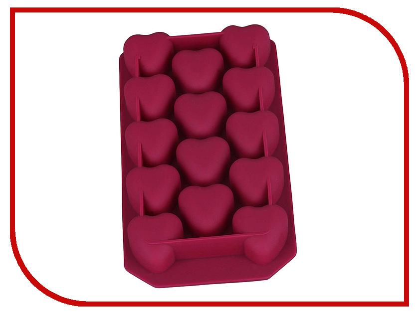 Форма для льда Bekker Сердечки BK-9511 Cherry