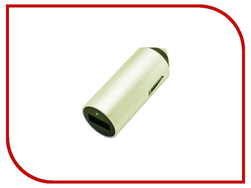 Зарядное устройство Budi M8J619 2.4A Gold