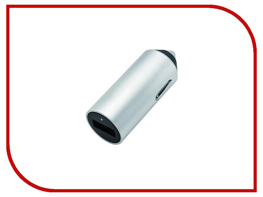 Зарядное устройство Budi M8J619 2.4A Silver