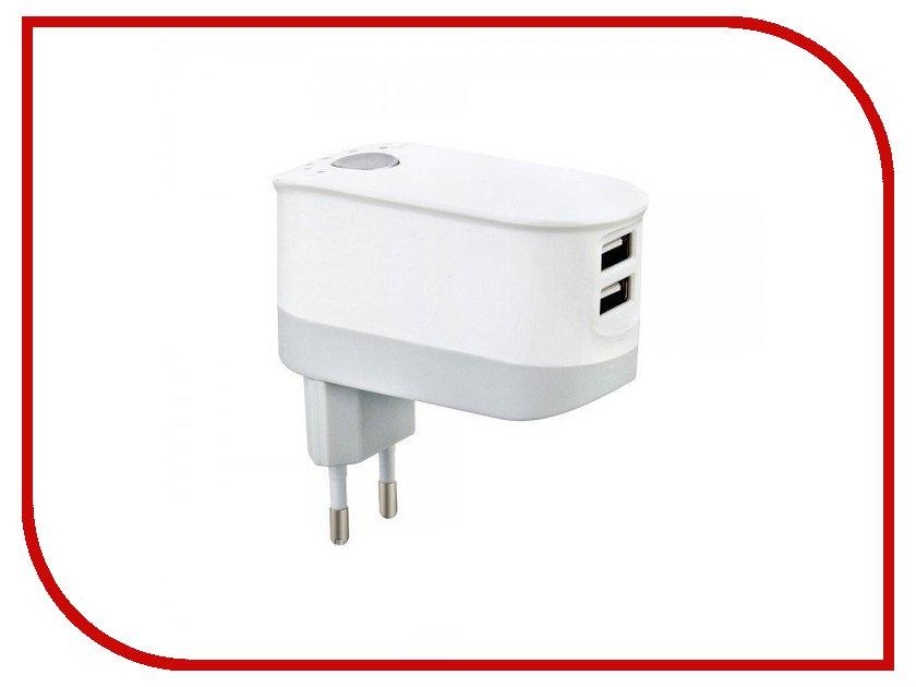 Зарядное устройство Budi M8j030E White зарядное устройство budi m8j065 3 1a lightning cable white