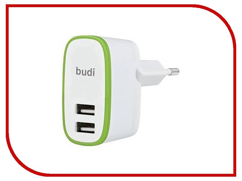 Зарядное устройство Budi M8J056E 2.4A White