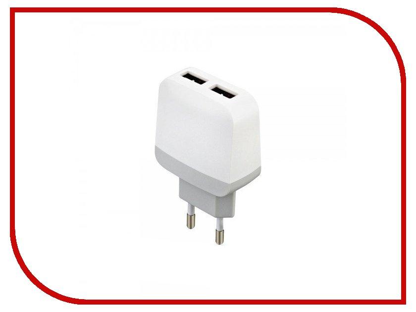 Зарядное устройство Budi M8J940E 2.4A White зарядное устройство budi m8j065 3 1a lightning cable white