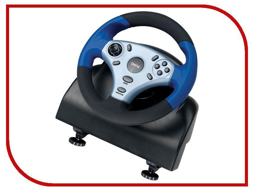 Игровой руль Dialog GW-12VR