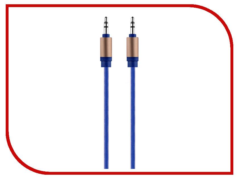 Аксессуар Budi AUX Jack 3.5 M8J129 1.2m Blue
