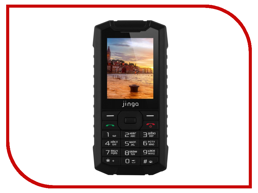 Сотовый телефон Jinga IP68 цена и фото